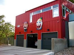 kitsch fix 7 clown capped garages u2013 coté writes