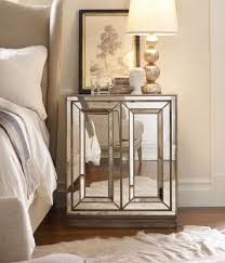Design For Oval Nightstand Ideas Furniture Modern Mirrored Nightstand Table Plus Table L