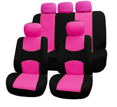 audi car wheels black friday amazon fh fb050115 flat cloth car seat covers pink black color by fh
