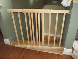 20 ways to wooden baby gates for stairs