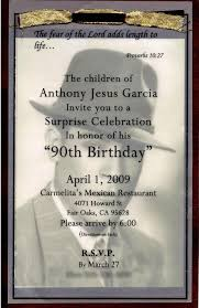 90th birthday party invitations 90th birthday party invitations in
