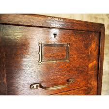 Antique Oak File Cabinet Adorable Vintage Wood File Cabinet Antique Wooden File Cabinets