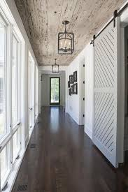 ooohh love this rustic entrance hallway wood plank ceilings