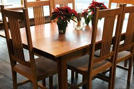 dining chairs mission style oak dining room chairs amish mission