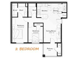 baxter meadows apartments floor plans bed two bath option1 click the for larger image