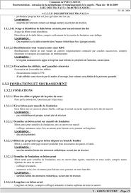 Pose En Coffrage Armatures Sur Plans Maitre D Ouvrage Commune De Pleucadeuc C C T P Descriptif Des
