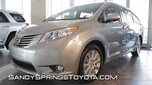 review of the 2013 toyota sienna youtube