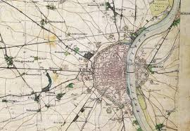 Map Of Cologne Germany by Industrialization Literary Ecology