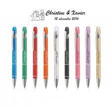 stylo personnalisã mariage ᐅ stylo personnalisé de mariage en métal version luxe sonic