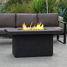 alderbrook faux wood fire table real flame 9640 lp ventura rectangular fire table bower reno