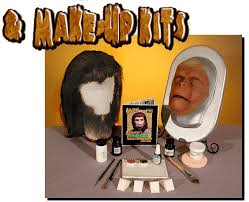 uk photo 6 finished prosthetics wig hairpieces starter make up removal kit block not included