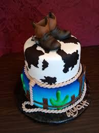 cowboy baby shower cake cakecentral com