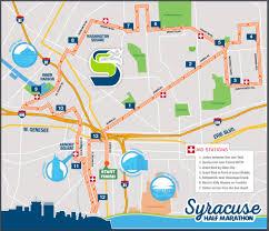 Syracuse Map 2016 Syracuse Half Marathon Course Released Syracuse Half Marathon