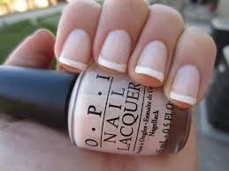 polish impress repeat french manicure with opi u0027s so many