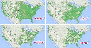 T Mobile Service Map Us Cellular Voice And Data Maps Wireless Coverage Maps Us