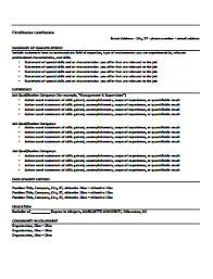 Free And Easy Resume Templates Functional Resume Template No 1 Download Edit Create Fill And
