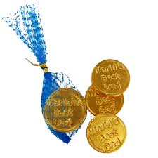 fathers day chocolate coins