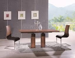 va9830 dc8817 modern white or walnut dining room set by at home