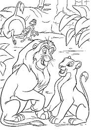 lion coloring sheet interesting cliparts