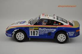 porsche 959 rally car porsche 959 dakar scaleauto 6091