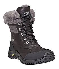 ugg australia s purple adirondack boots ugg adirondack ii cold weather lace up waterproof duck boots