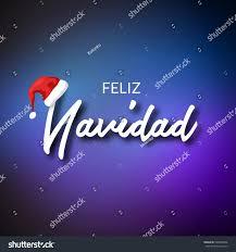 feliz navidad christmas card feliz navidad merry christmas card template stock illustration