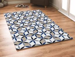 Area Rugs Blue Rugs Curtains Modern Geometric Blue Area Rug For For Amazing