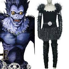 Halloween Death Costume Wholesale Halloween Anime Costumes Custom Faux Fur Death Note