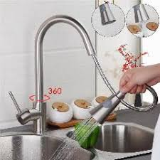 free faucet kitchen 304 stainless steel pull out kitchen faucet kitchen mixer lead
