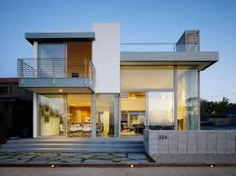 modern 2 story house plans contemporary 2 story house design with deck part of home design