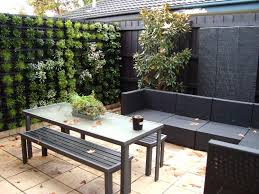 Small Backyard Idea Small Backyard Ideas With Vertical Garden Inspiring Modern Garden