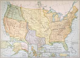 map us expansion map u s expansion 1905 painting by granger
