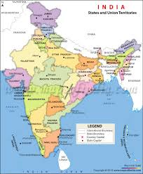 map of india political map political map of india