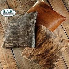 Cowhide Pillows Cowhide Pillow Ebay