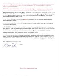 letter of support from republican state representative greg