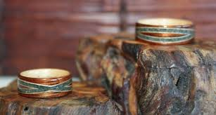 touch wood rings wear the warmth of wood soul mates and wooden rings