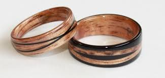 wood rings wedding wooden rings by touch wood rings a photo gallery