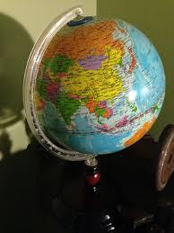 earth globes that light up vintage light up world globe l underwriters laboratories on etsy