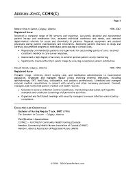 cover letter for rn resume letter example nursing
