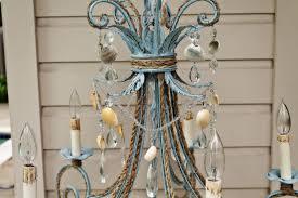 decorations oyster shell chandelier rectangular shell