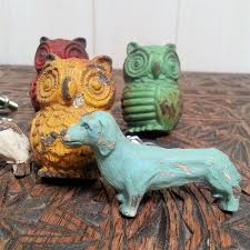 Bedroom Knobs And Pulls For Furniture Dogs Owl Swallows Door Knobs Drawer Pulls Handles Metal Vtg