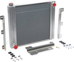 flex a lite 60087 aluminum radiator for 87 06 jeep wrangler yj