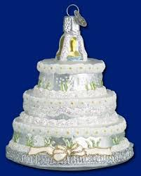 wedding cake ornament wedding and anniversary gifts special occasions
