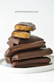 baby ruth candy bars from scratch by faring well vegan recipe
