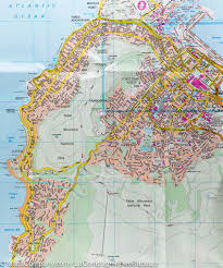 South Africa Maps by City Map Of Cape Town South Africa Marco Polo U2013 Mapscompany