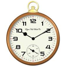 compact pocket watch wall clock 123 pocket watch wall clock canada