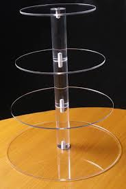 acrylic cake stands 3 tier circle acrylic cupcake party wedding cake stand in cake