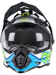 motocross helmets and goggles oneal blue 2018 sierra ii slingshot mx helmet oneal