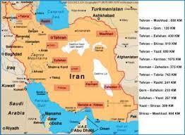 map or iran iran map map of iran cities let s go iran