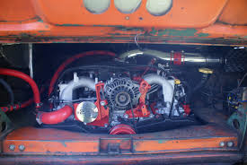volkswagen wrx subaru engine in a 1966 splitscreen type 2 vw camper vwrxproject